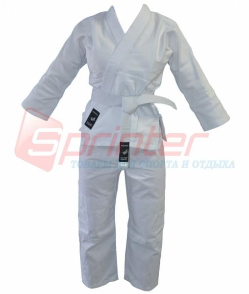 Кимоно для дзюдо. Цвет белый. Рост 140.(1)