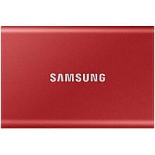 SSD накопитель Samsung T7 1 TB Red (MU-PC1T0R/WW) New Original