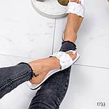 Женские шлепанцы в стиле Dior, белые,черные, фото 7