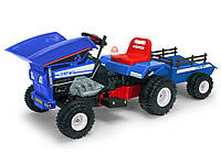 Детский трактор на аккумуляторе Dump Track 12V INJUSA 637 (от 3 до 5 лет)