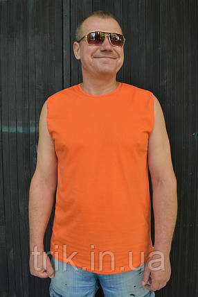 Безрукавка мужская оранжевая, фото 2