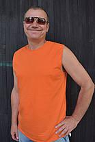 Безрукавка мужская оранжевая, фото 3