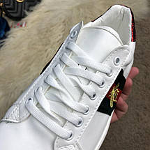 Gucci Ace Embroidered Sneaker White, фото 3