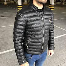 Parka Philipp Plein Michelin Black, фото 2
