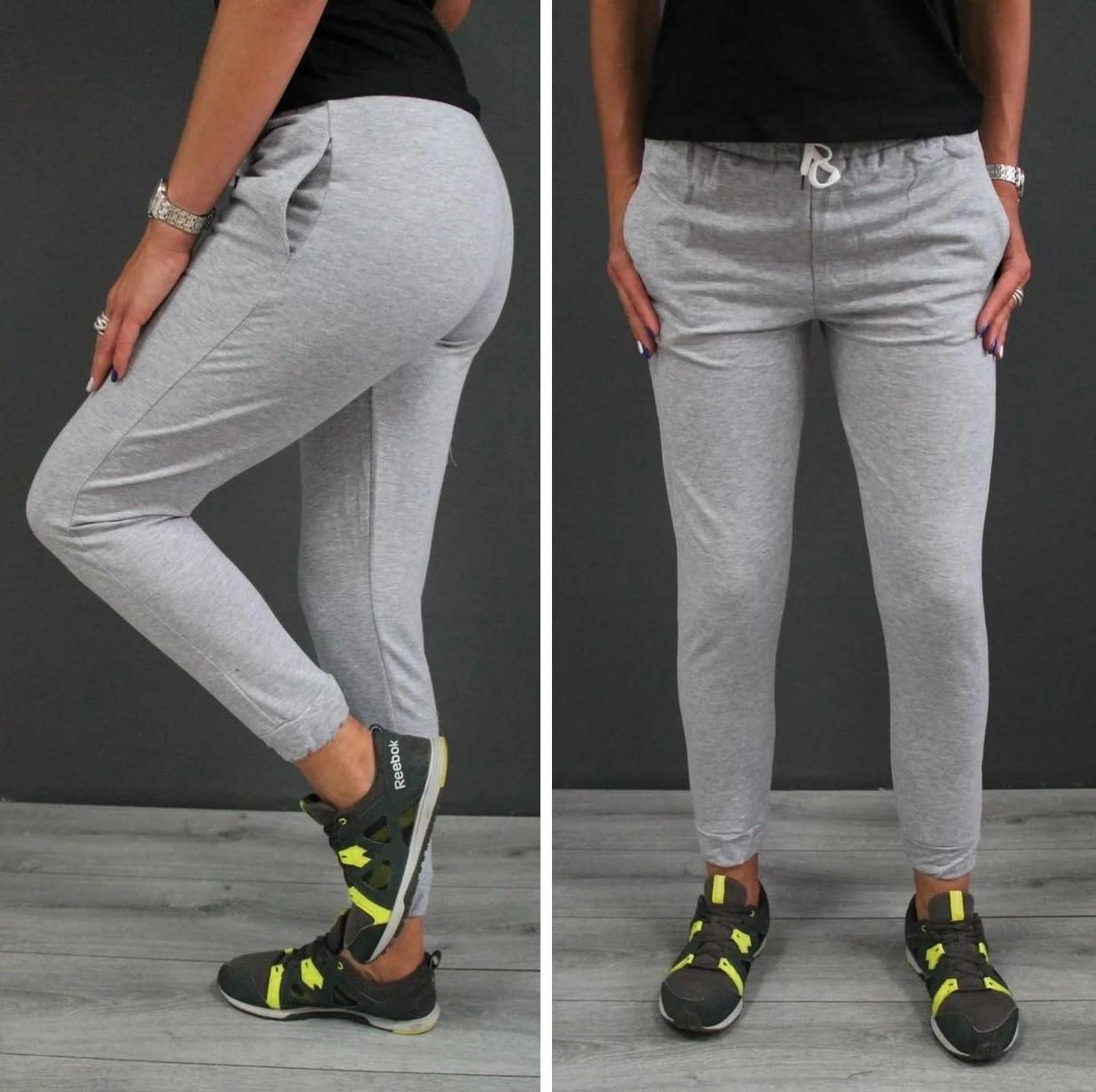 Спортивные штаны серые размер 42,44,46,48