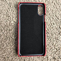 Chanel Iphone X Case Quilted Double C Red, фото 2
