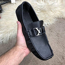 Louis Vuitton Moccasins Raspail Black, фото 3
