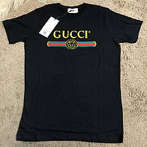 Gucci T-shirt with Washed Logo Black, фото 2