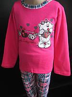 Байковые пижамки для девочек., фото 1