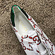Gucci Ace Sneaker with GG Print White, фото 3