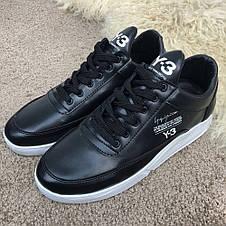 Adidas Y-3 Bashyo Sneakers Black/White, фото 2