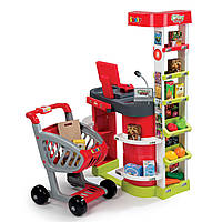 Интерактивный супермаркет с тележкой Smoby 24044