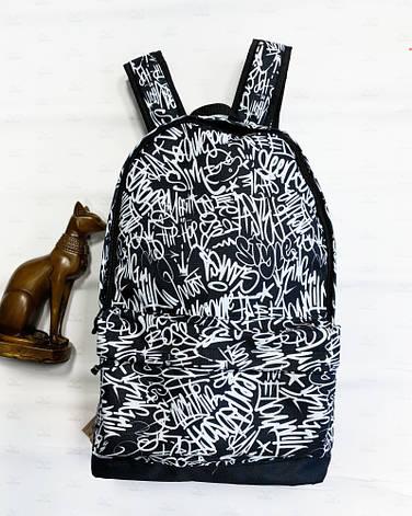 Рюкзак Сalligraphy черно-белый, фото 2