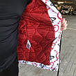 Gucci Jacquard White/Red Parka Jacket, фото 6