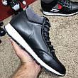 Prada Mechano Mid Sneakers Black, фото 4