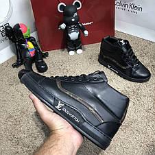 Louis Vuitton Oberkamf Sneakers Monogram/Black, фото 2
