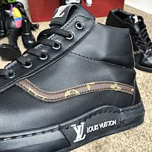 Louis Vuitton Oberkamf Sneakers Monogram/Black, фото 3