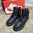 Nike Lunar Force 1 Duckboot All Black, фото 2