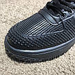 Nike Lunar Force 1 Duckboot All Black, фото 3