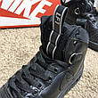 Nike Lunar Force 1 Duckboot All Black, фото 4
