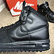 Nike Lunar Force 1 Duckboot All Black, фото 5
