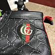 Gucci Signature Web High Top Black/Blue/Red, фото 2
