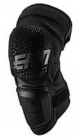 Мотонаколенники LEATT Knee Guard 3DF Hybrid Black, фото 1