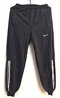 Спортивные мужские штаны  с манжетом черные размер 56,58