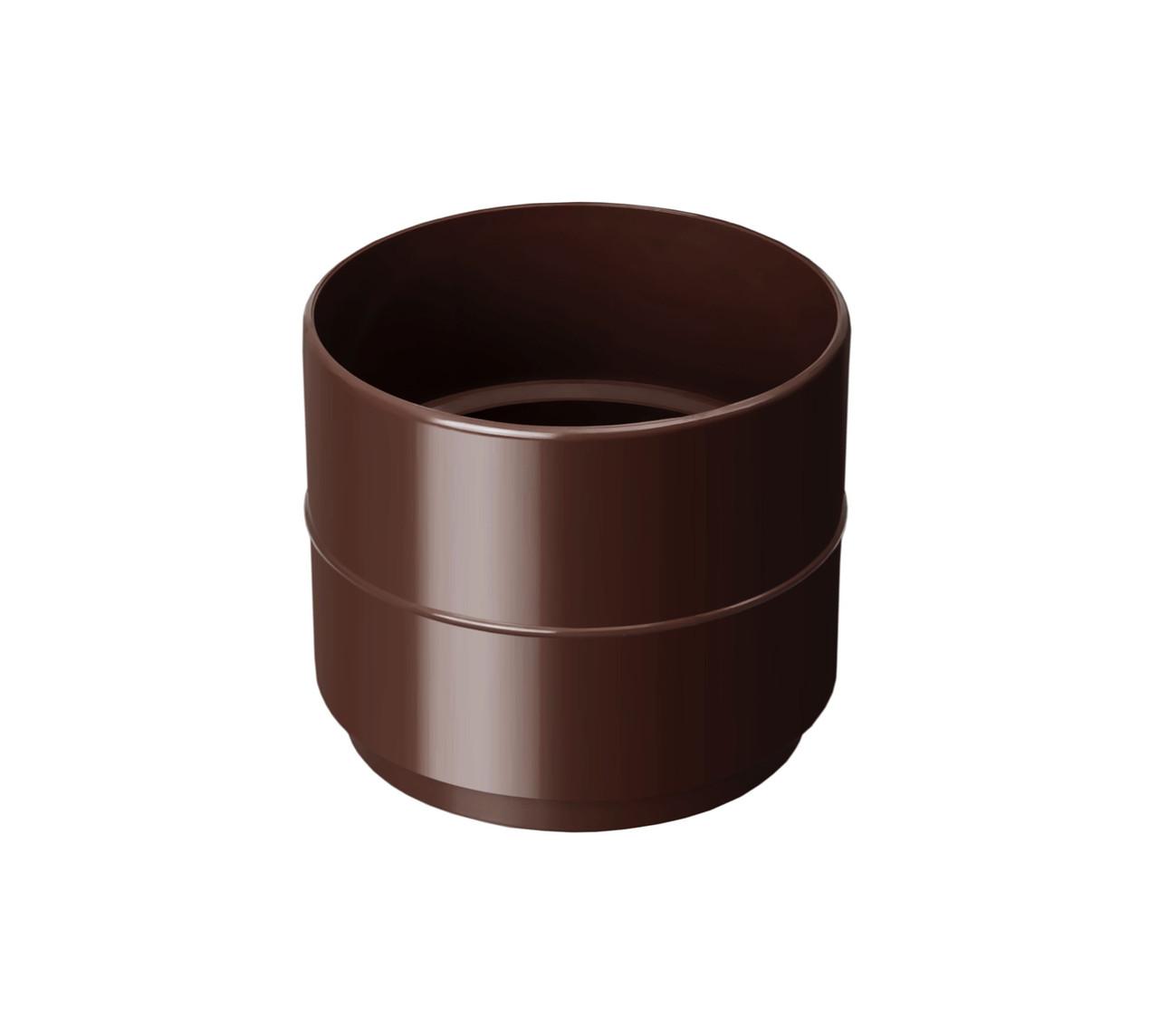 Муфта трубы коричневая 90/75 Rainway