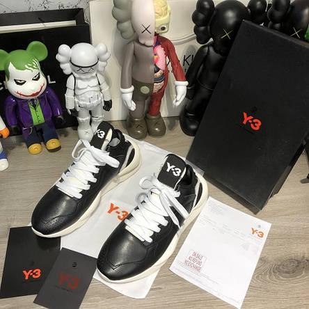 Adidas Y-3 Kaiwa Sneakers Black/White, фото 2