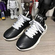Adidas Y-3 Kaiwa Sneakers Black/White, фото 3