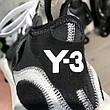 Adidas Y-3 Kaiwa Sneakers Black/White, фото 6