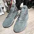 Adidas Y-3 Kaiwa Sneakers Gray Suede, фото 3