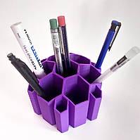 Настольный органайзер подставка для ручек и карандашей