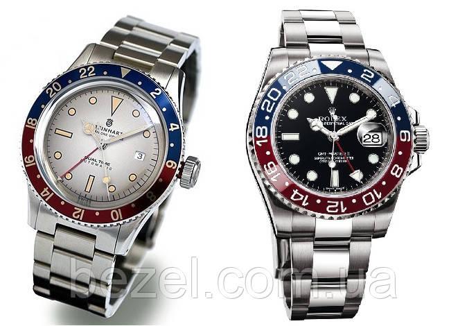 Мужские часы Steinhart Ocean, Nav B-Uhr, MARINE, MILITARY, Apollon, GMT под заказ в Украине ЛЮБАЯ МОДЕЛЬ!