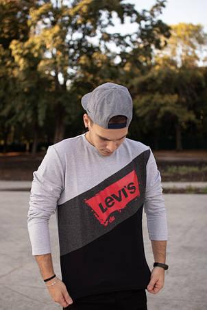 Мужской свитшот LEVI'S 3-х цветный, фото 2