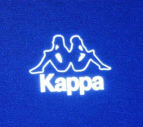 Худи электрик с светоотражающим логотипом Kappa, фото 2