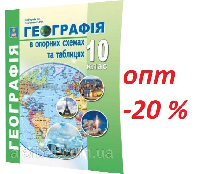 10 клас / Географія. Опорні схеми та таблиці / Кобернік, Коваленко / Абетка
