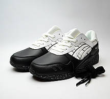 Asics Gel Lyte III Black Leather, фото 3