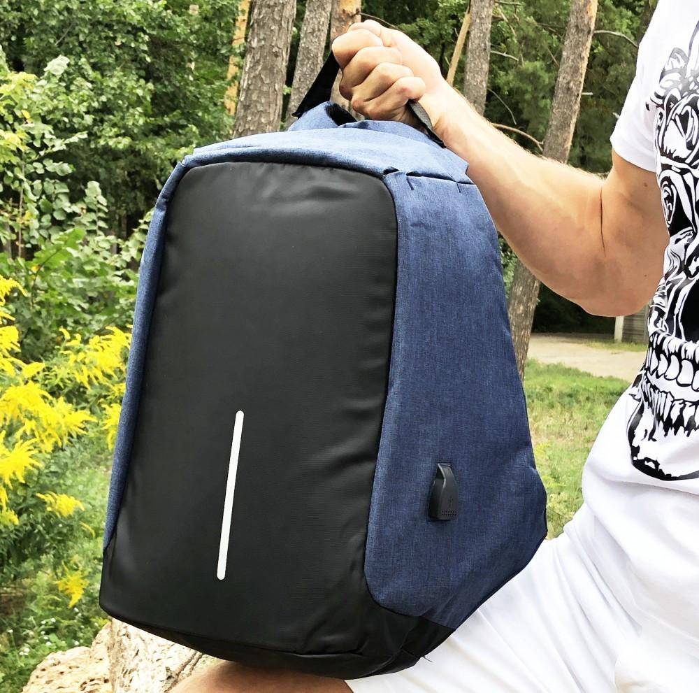 Рюкзак Bobby (антивор) blue