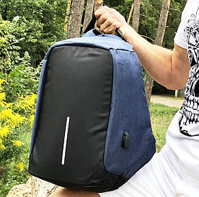Рюкзак Bobby (антивор) blue, фото 2