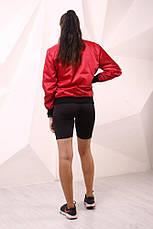 Бомбер красный с водоотталкивающими свойствами  Quest Wear, фото 3
