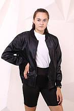 Бомбер чёрный с водоотталкивающими свойствами Quest Wear