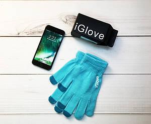 Перчатки iGlove blue, фото 2