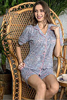 Пижама на пуговицах женская летняя