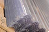 Гофрований полікарбонат SUNTUF 1.26х3 метра Прозорий, фото 2