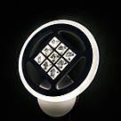 Бра LED з кристалами коло 20-LI8860/1A 42W WH, фото 5