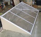 Гофрований полікарбонат SUNTUF 1.26х3 метра Прозорий, фото 4