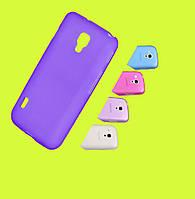 Чехол Smart Silicase Sony Xperia C (C2305/S39h) Violet