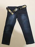 Тёплые   джинсы на флисе для девочки 22, 24, 26, 28 размер, фото 1